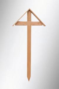 GK-E 150 D Eiche lackiert, Allgäuer Modell mit Dach